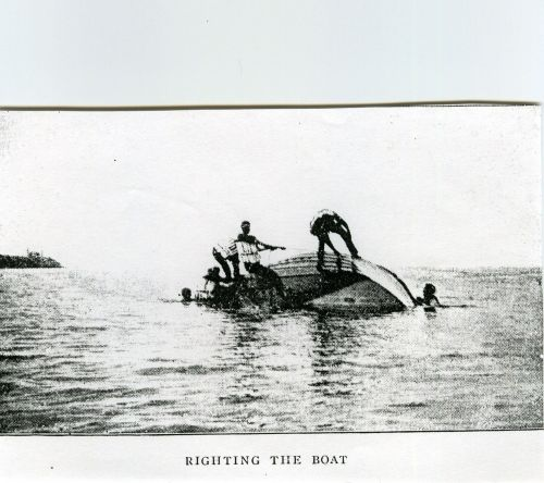 Life Saving Righting A Boat